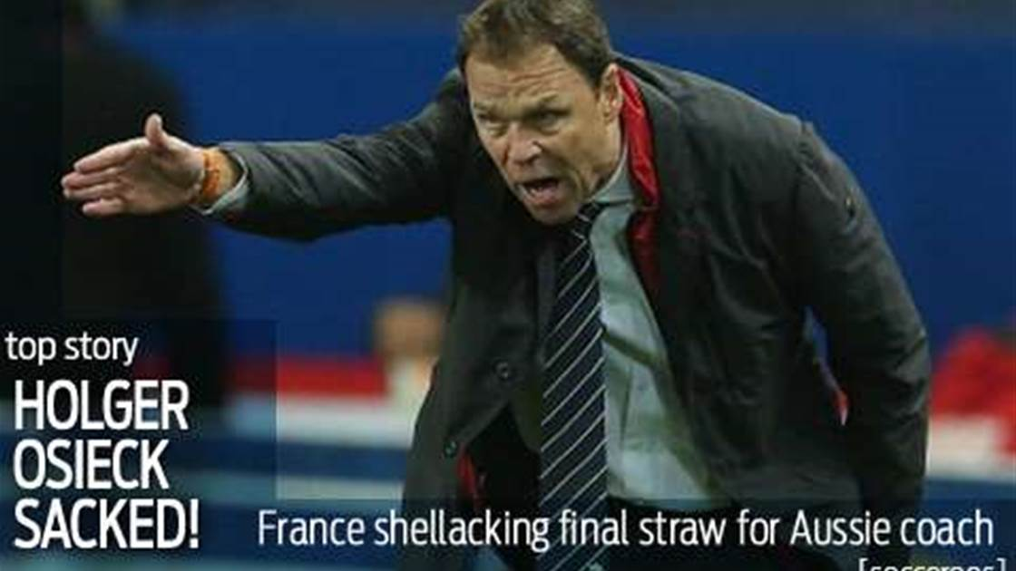 Just Eiffel...Osieck sacked after France debacle