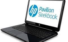 CES 2013: HP unveils 'sleekbooks', smart displays