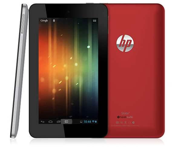 HP goes with Android for new tablet