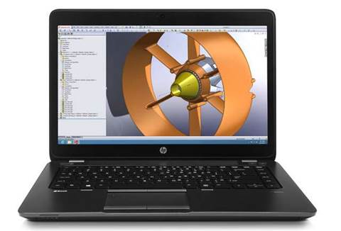 "HP calls ZBook 14 ""world's first workstation Ultrabook"""