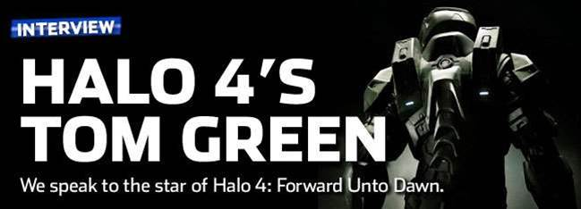 Interview: Tom Green, star of Halo 4: Forward Unto Dawn