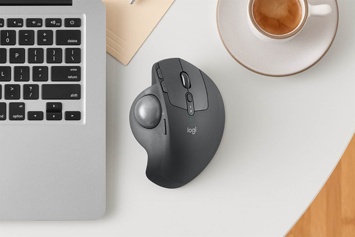 Logitech brings back the trackball with the wireless MX Ergo