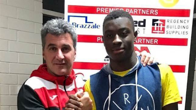 Aussie teen signs with Danish club