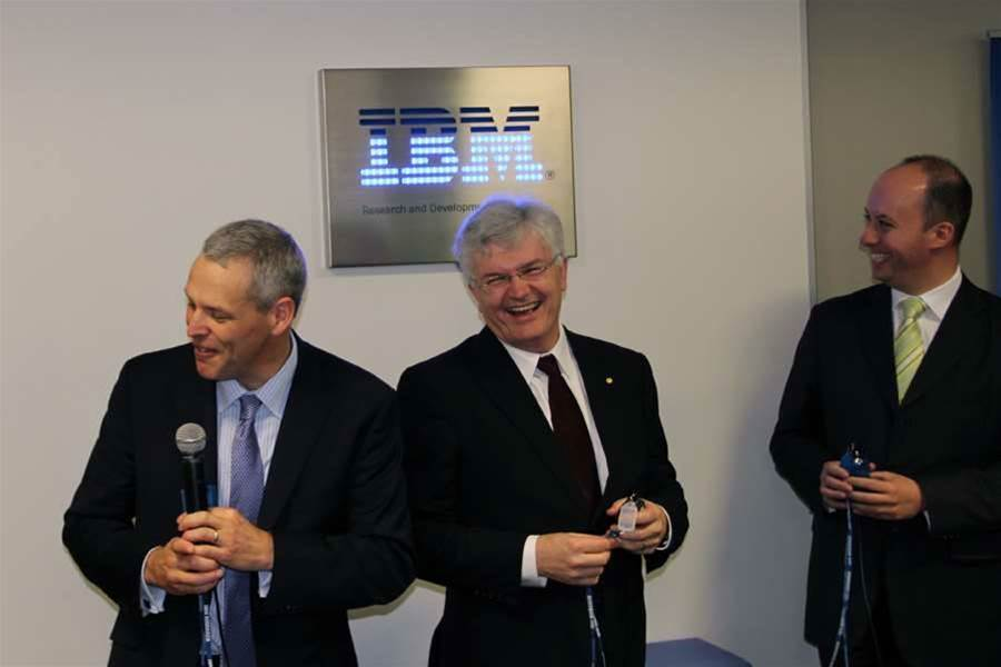 Photos: IBM launches Melbourne R&D lab