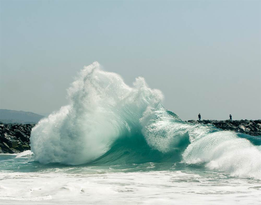 Behind the lens at the wedge