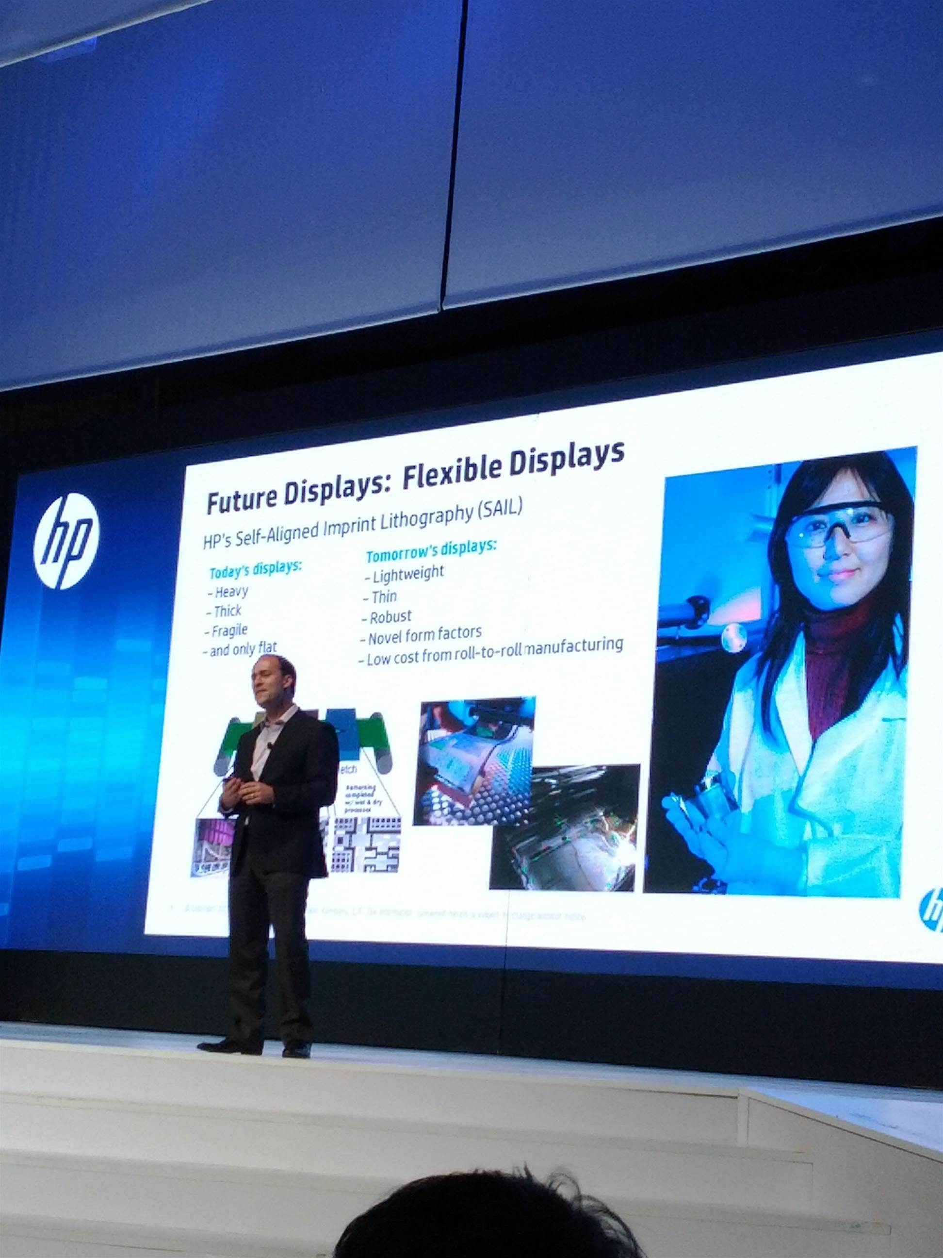 Thin, flexible, indestructible: HPs vision of the future