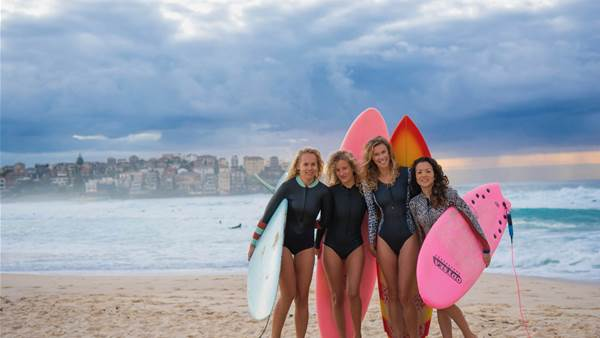 'Saltwater Curls' take on The Surf Aid Cup