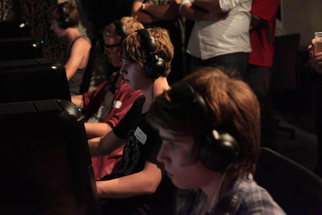 Black Ops LAN night at Atomic HQ