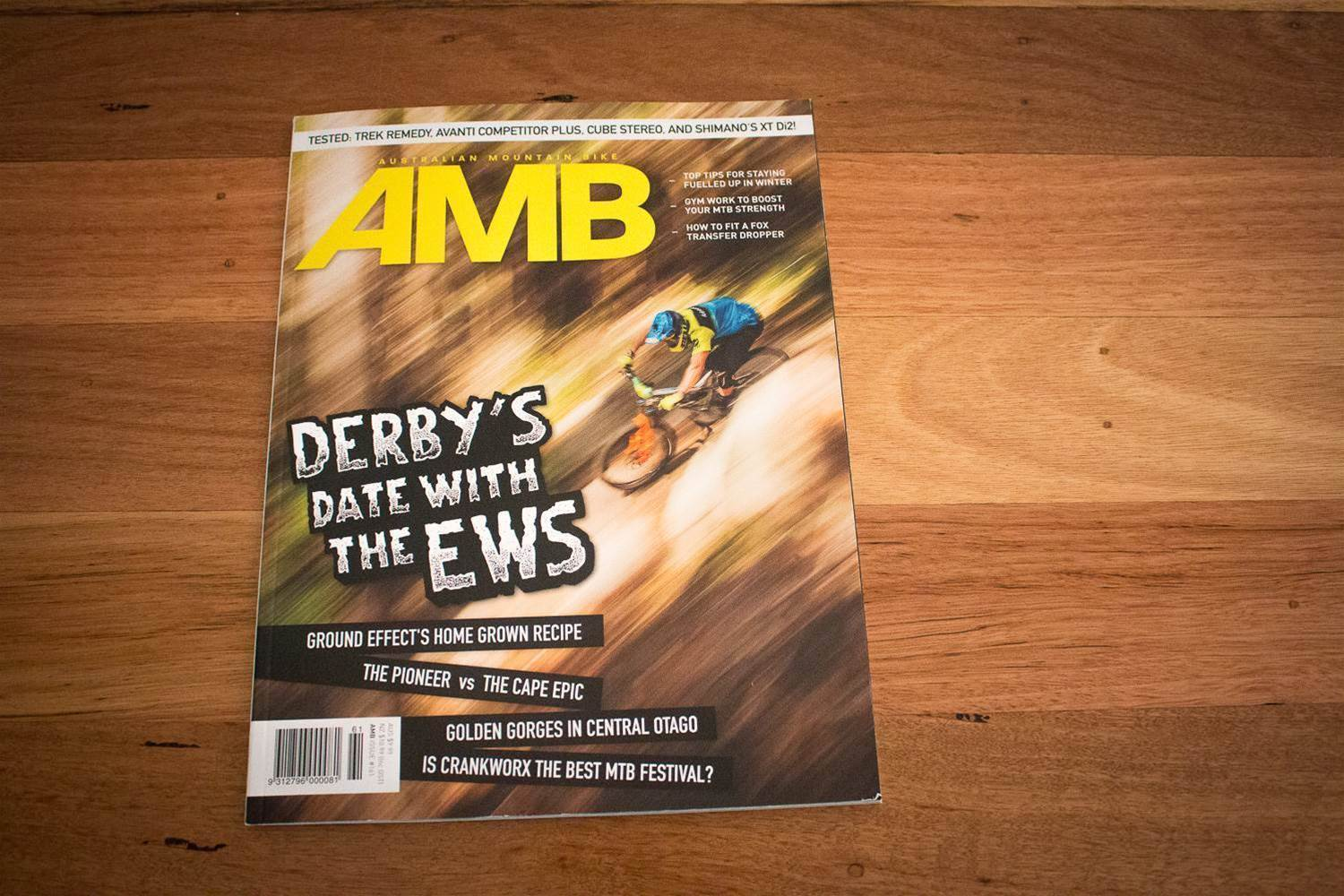 Take a look inside AMB Issue #161!