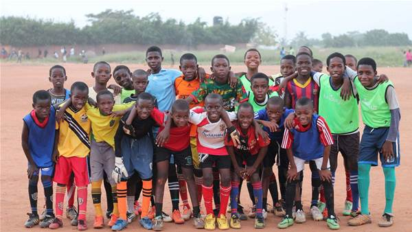 Their Beautiful Game and the kits of kindness