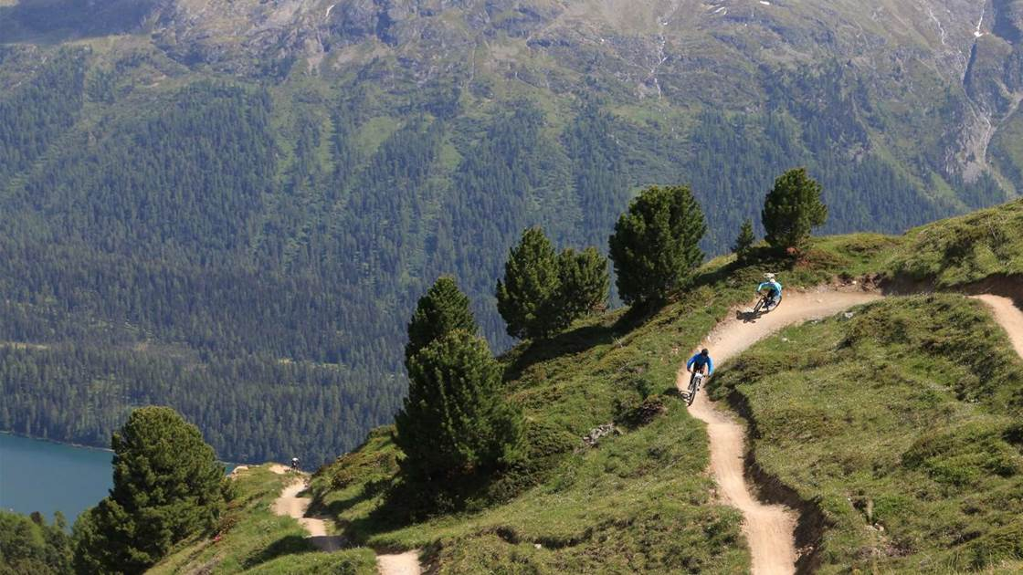 Places That Rock: Corviglia Flow Trails