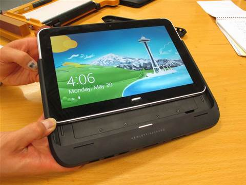 Campari serves up Windows 8 on HP tablets