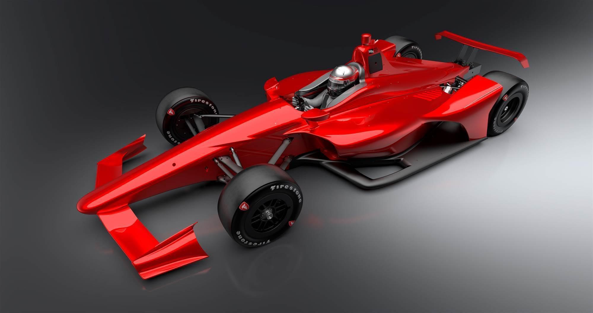 New Indycar aero kit unveiled
