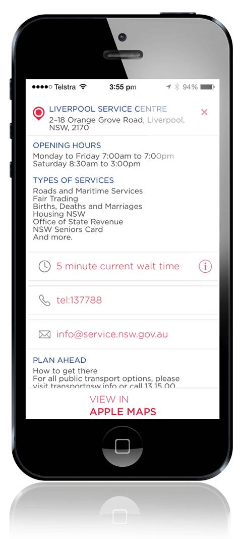 Service NSW offers real-time queue updates