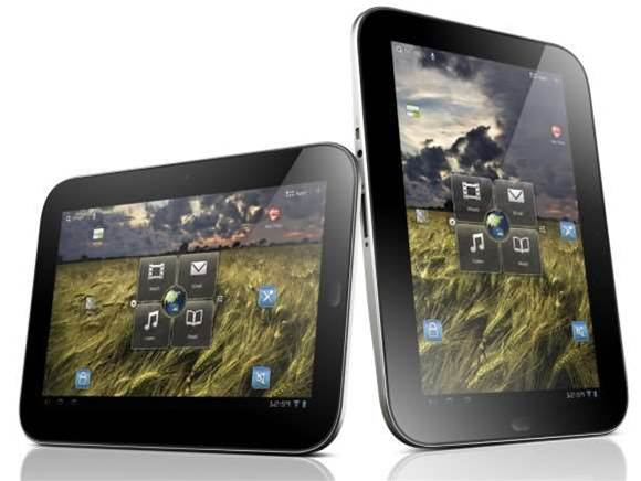 Lenovo enters tablet race with the IdeaPad Tablet K1 and ThinkPad Tablet