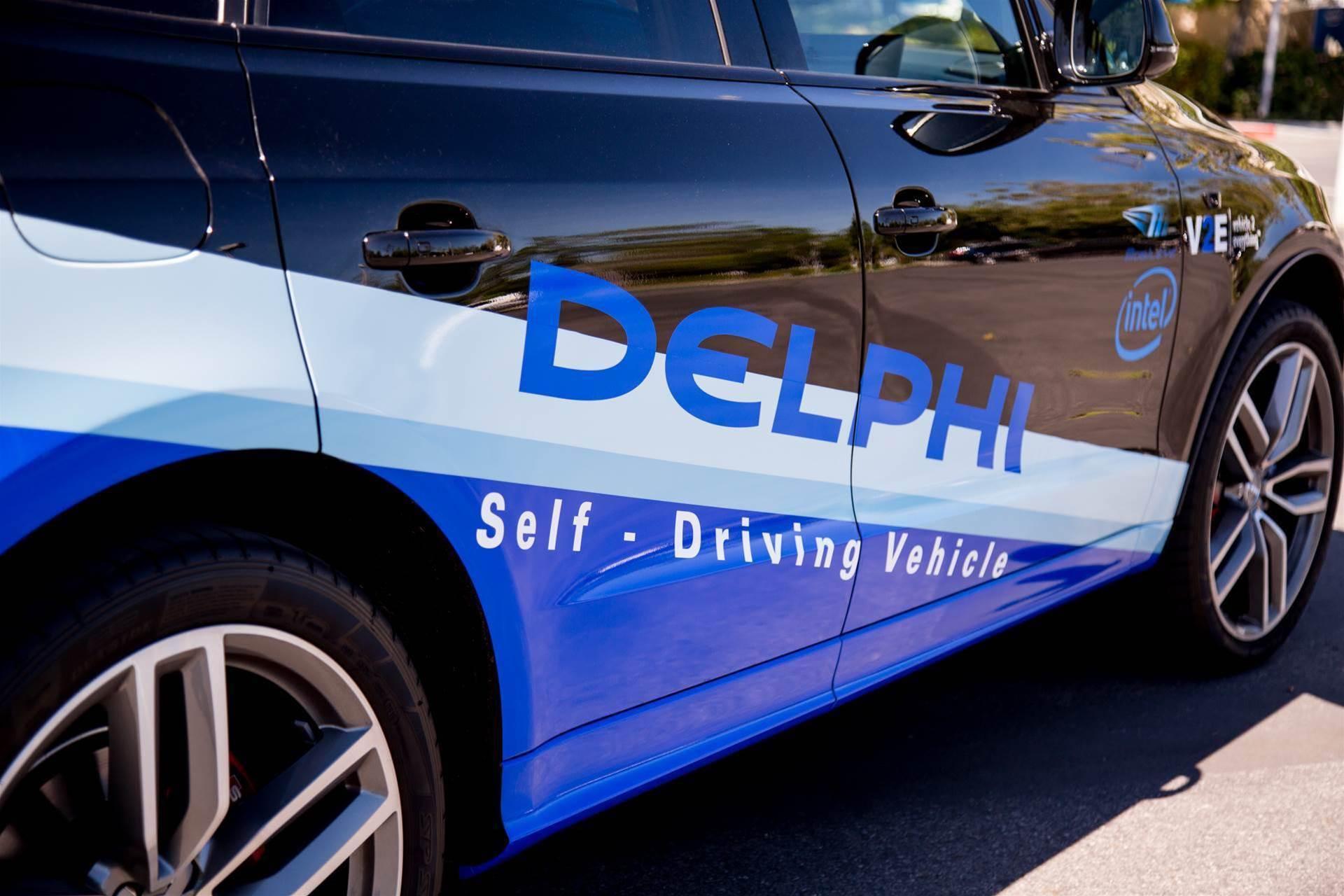 Delphi joins Intel's autonomous vehicle effort