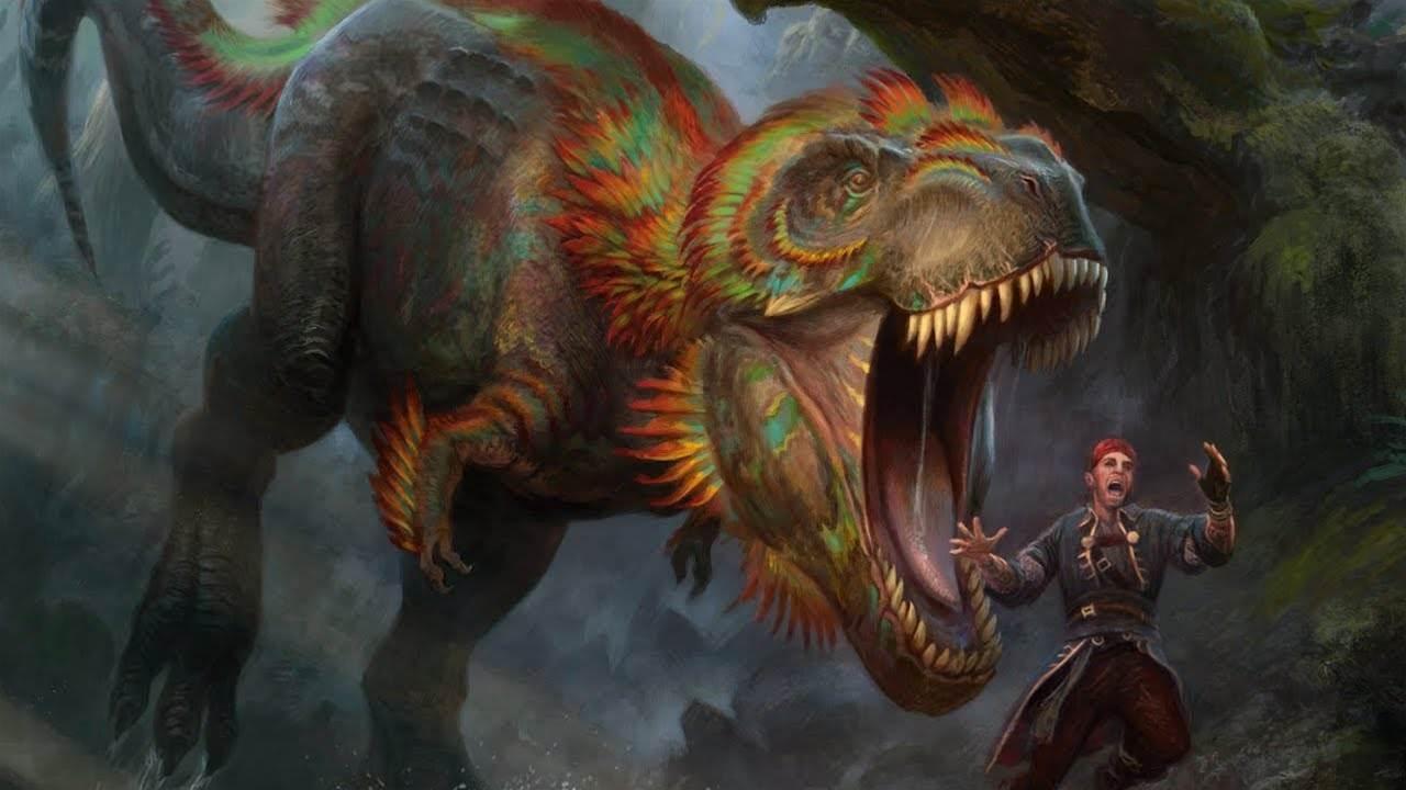 Magic: The Gathering - Ixalan expansion pits pirates vs dinosaurs