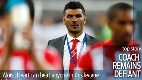 Defiant Aloisi: I'm the right man for Heart