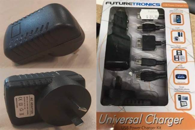 JB Hi-Fi recalls universal charger