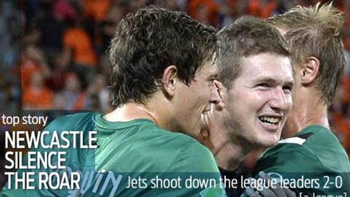 Jets shoot down league leaders Roar