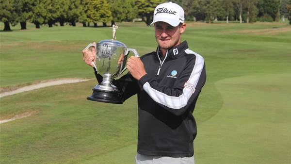Felton bounces back to snatch NZ PGA