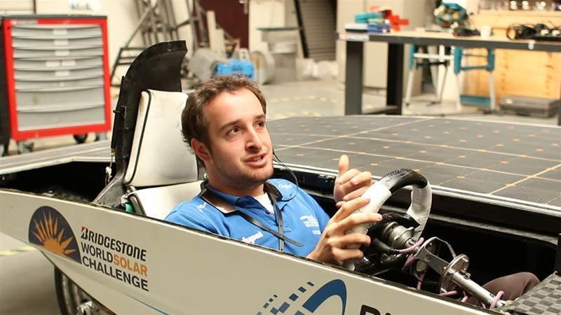 How wearables helped Solar Challenge team keep its cool