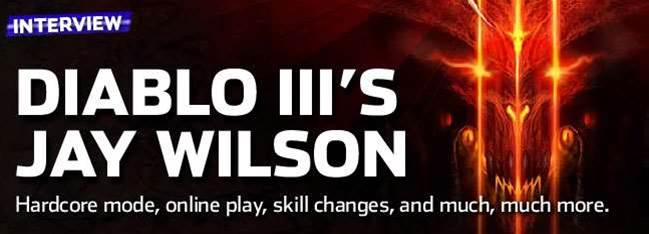 Diablo III Interview - making Hardcore hardcore, the no LAN issue, and much more