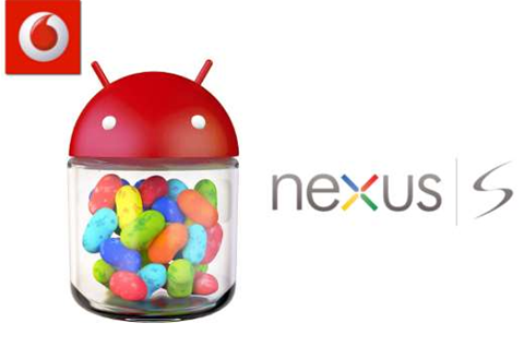 Vodafone halts Android 4.1 update for Nexus S