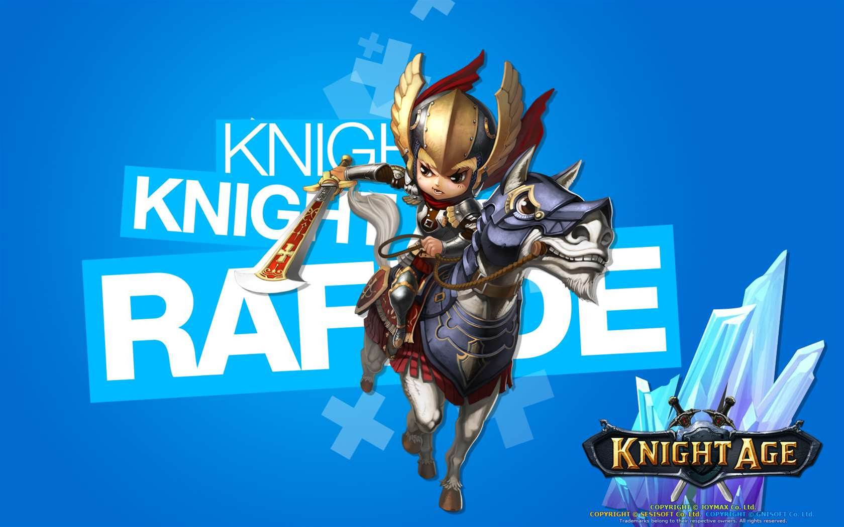 Closed Beta for riding MMO Knight Age starts up