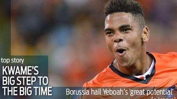Yeboah seals Borussia Monchengladbach move