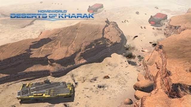 Homeworld: Deserts of Kharak out now!