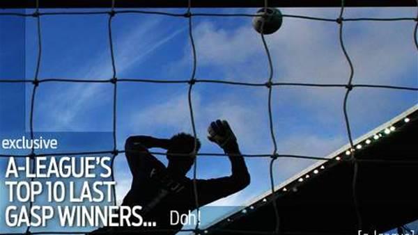 A-League's Top 10 last-gasp winners