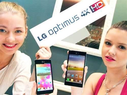 MWC 2012 – LG Optimus 4X HD caught on camera
