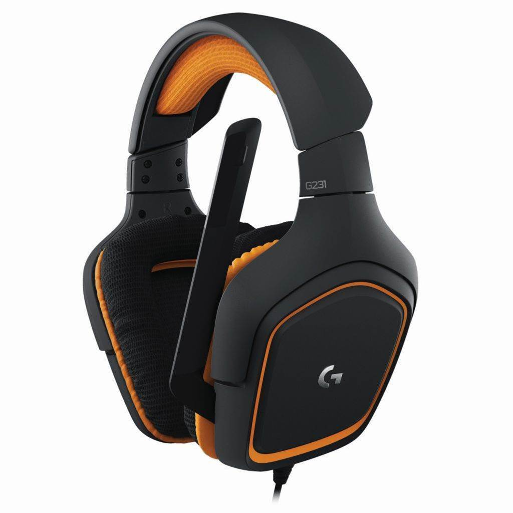 One Minute Review: Logitech G231 Prodigy gaming headphones