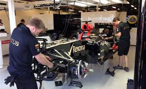 Lotus F1 Team extends Microsoft partnership