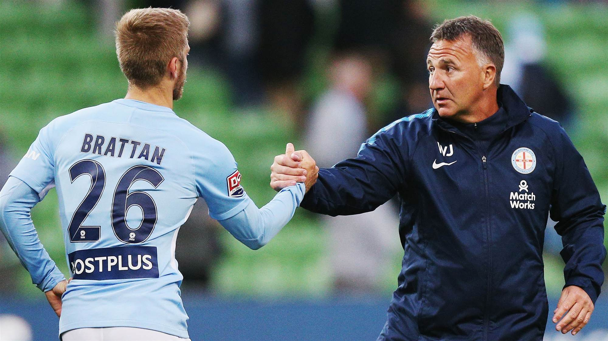 Luke Brattan talks gaffer banter and weight loss