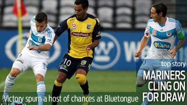Mariners survive Victory onslaught to draw