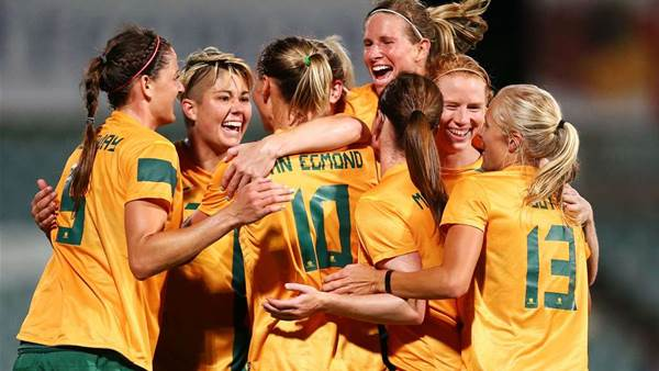 Matildas draw world champs Japan in Asian Cup