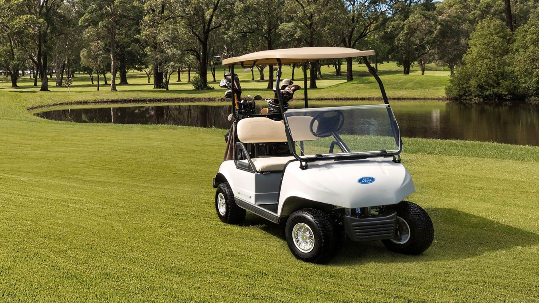 Ford golf carts go further