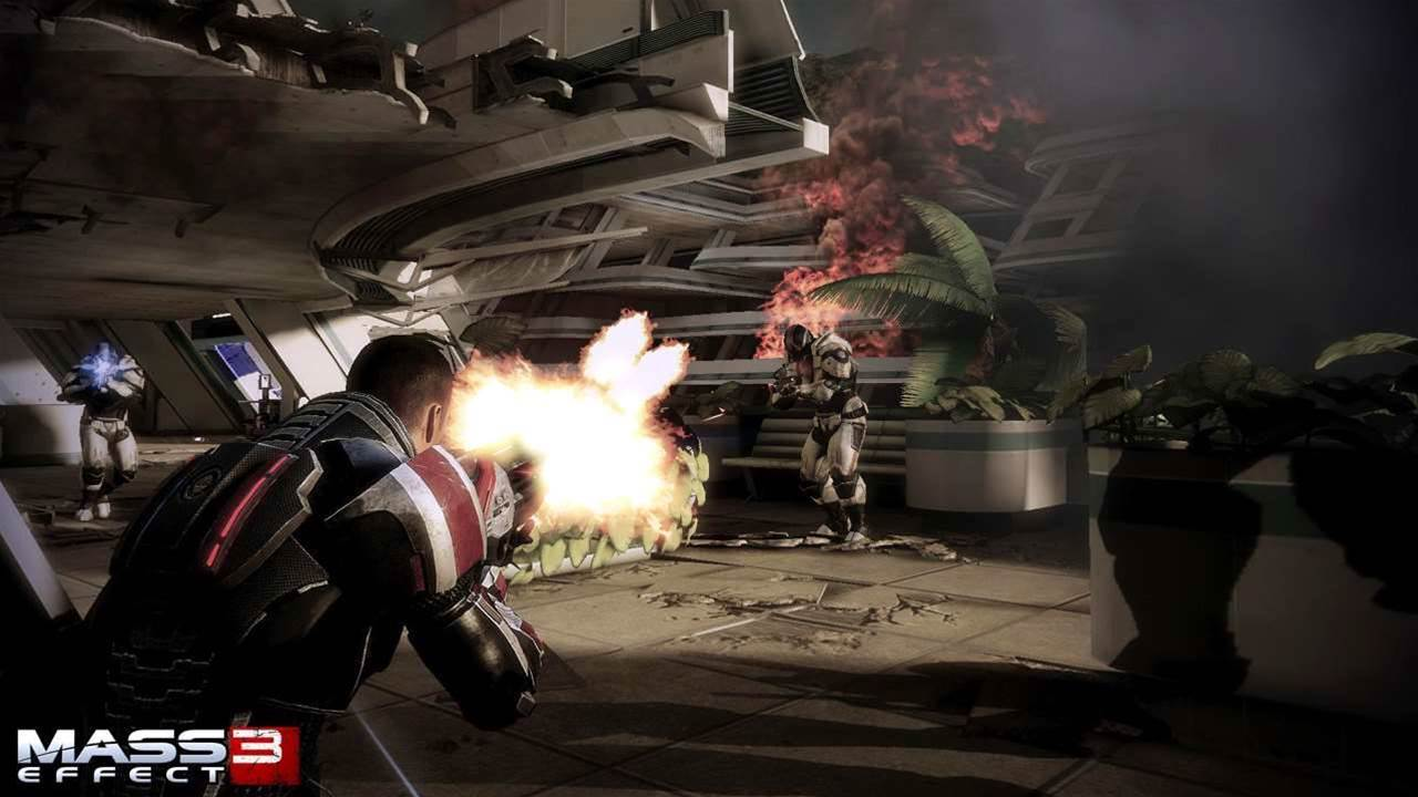 New Mass Effect 3 Take Earth Back trailer made of epic win