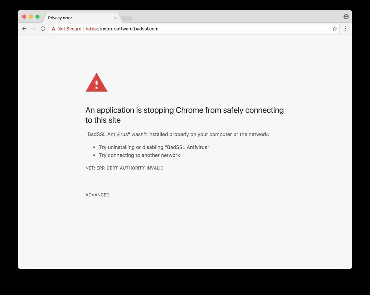 Chrome to provide TLS interception warnings
