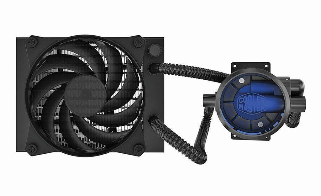 Review: Cooler Master Masterliquid Pro 120 CPU cooler