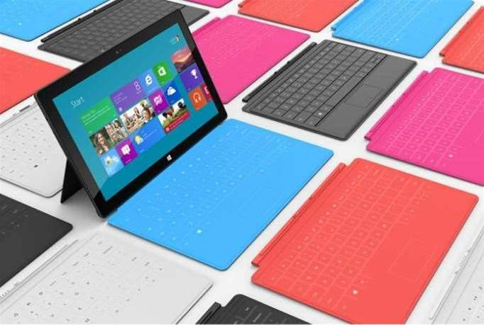 Introducing Microsoft's Surface tablet