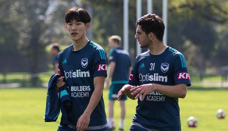 Korean full-back on trial at Victory