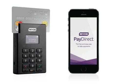 MYOB has released this credit card reader