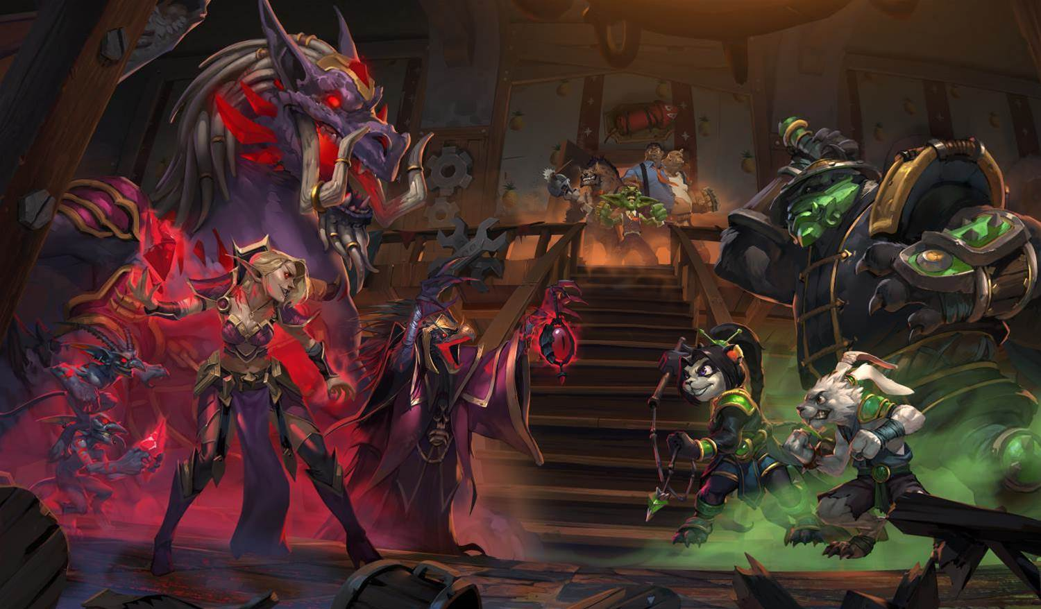 Mean Streets of Gadgetzan expansion hits Heartstone