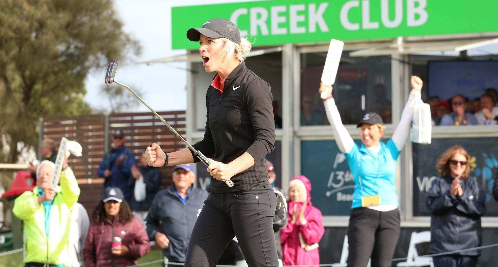 VIC OPEN: Emotional Reid claims crown in extra time