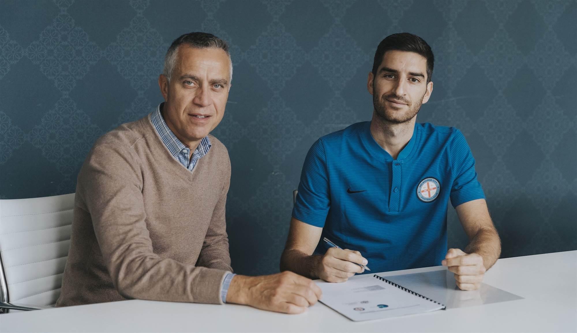 City sign Italian defender