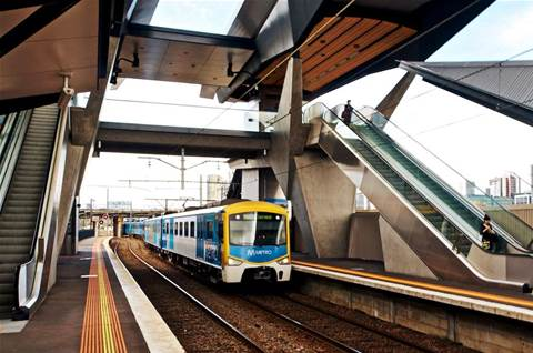 Melbourne trains get real-time arrival data
