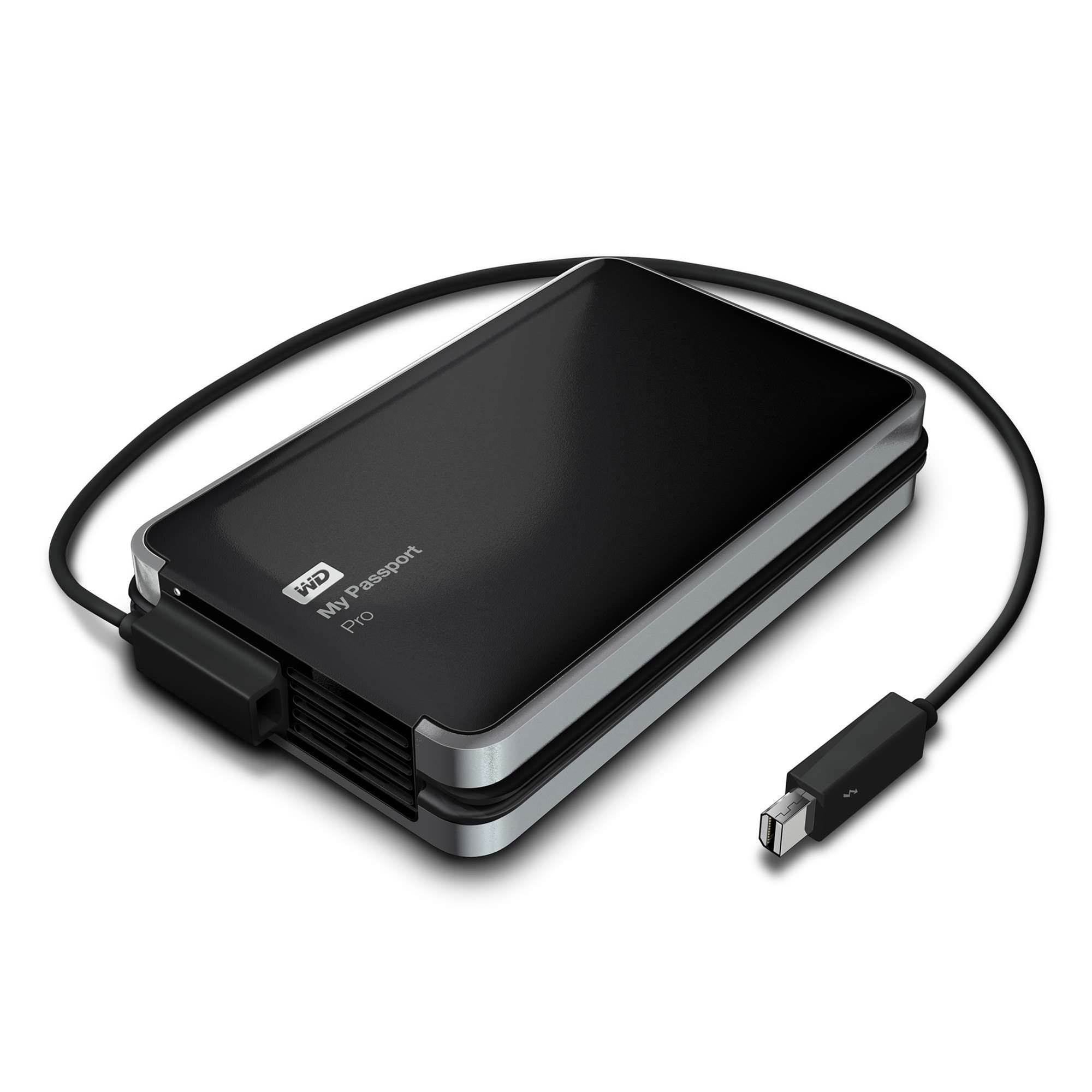 WD calls down a Thunderbolt with new, high speed My Passport Pro
